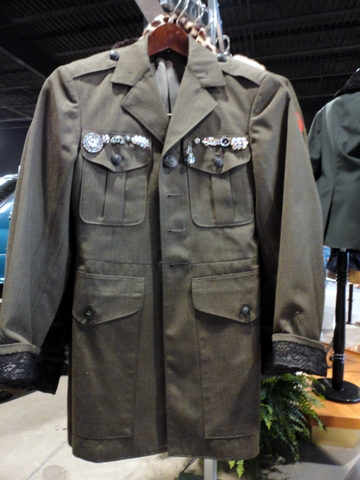 Military goes chic