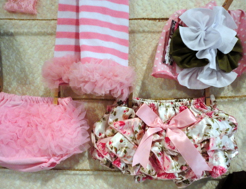 Pink pretties from Sunshine Couture
