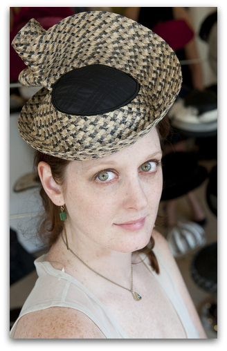 Hats are designed to bring out the eyes