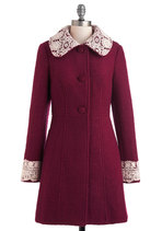 Mulberry Scones Coat from ModCloth
