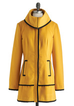 Taxi Me With You Coat from ModCloth