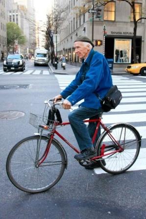 New York Times fashion photographer Bill Cunningham