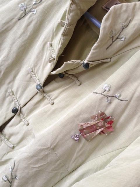 Kimono pin and jacket