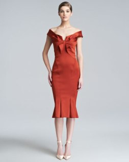 Cocktail dress by Zac Posen at Neiman Marcus