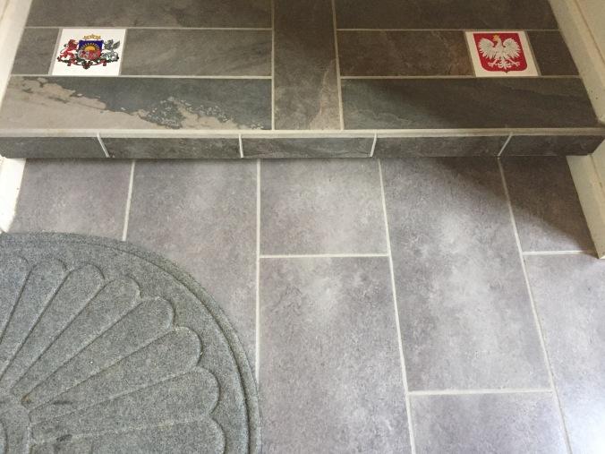 Back hallway step