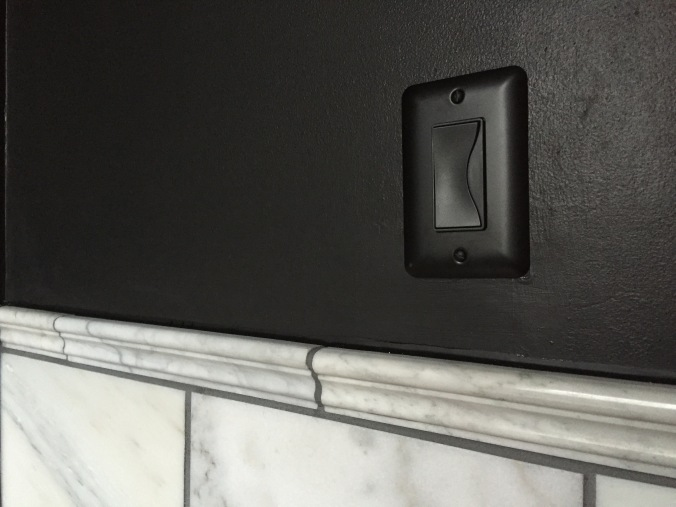 Modern light switch