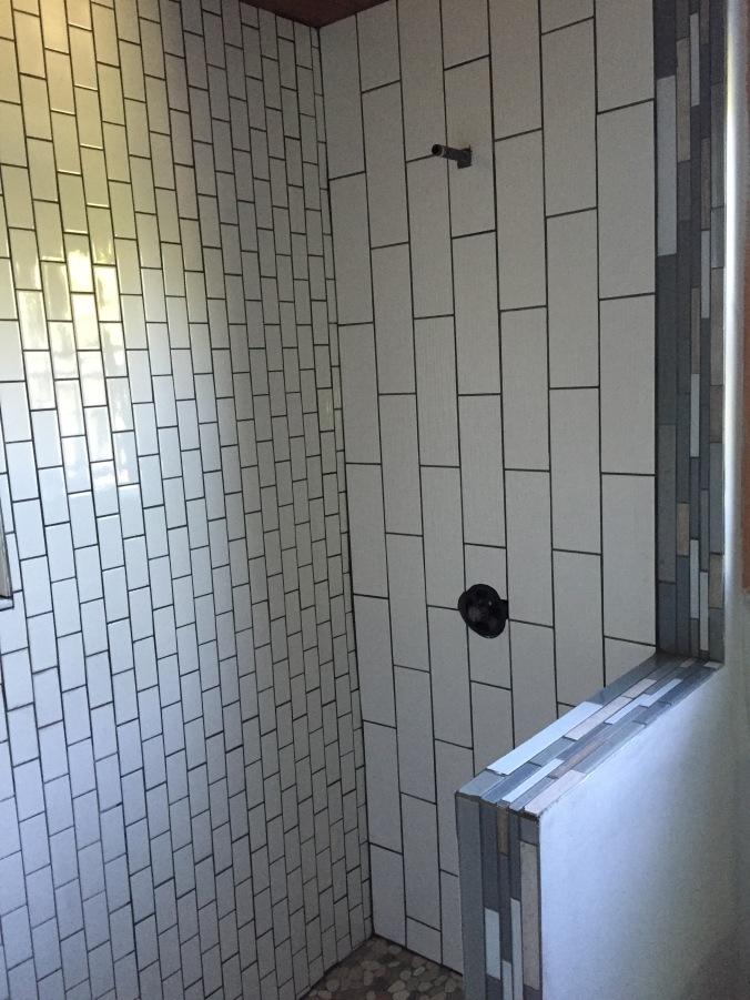 Abby & Elle Upstairs Fashion & Design bathroom/shower reno