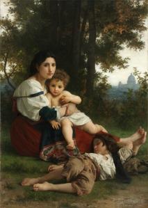 Rest by William Bouguereau, 1879