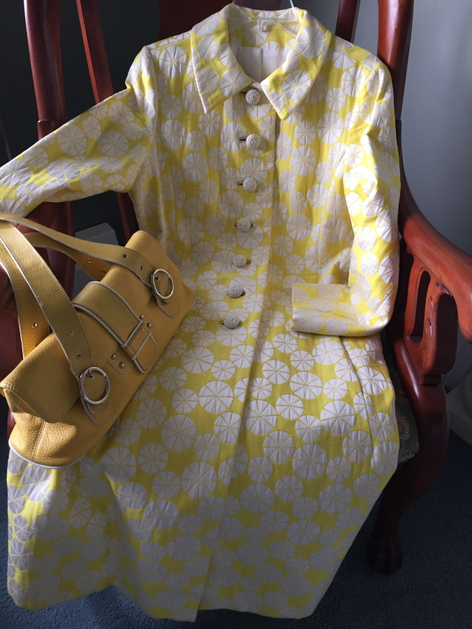 Abby & Elle Upstairs Fashion & Design raincoat and purse