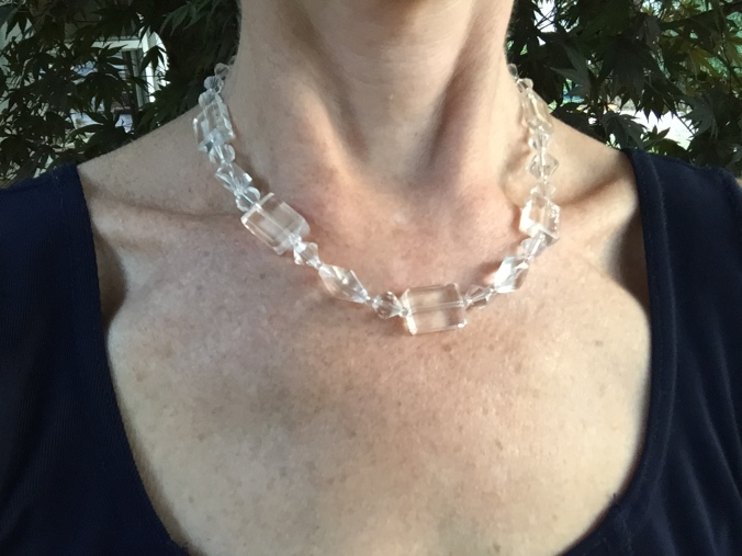 Abby & Elle Upstairs Fashion & Design clear necklace