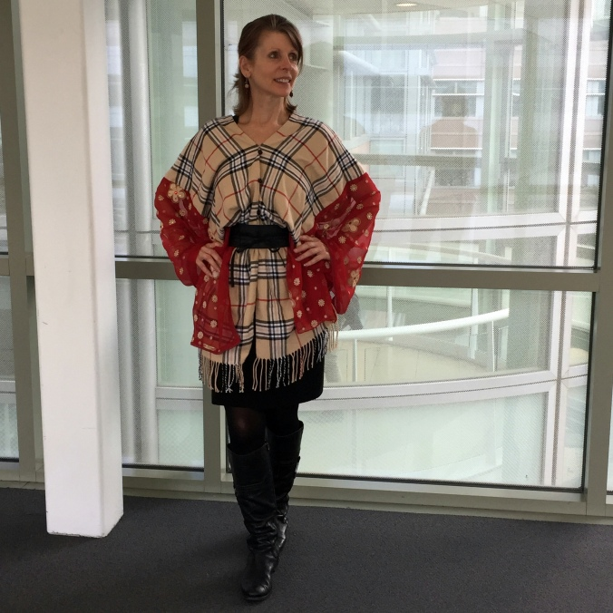 Abby & Elle Upstairs Fashion & Design Flutter-Bye Boutique Poncho