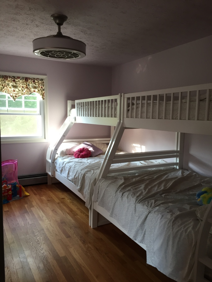 Abby & Elle Upstairs Fashion kids' bedroom redo
