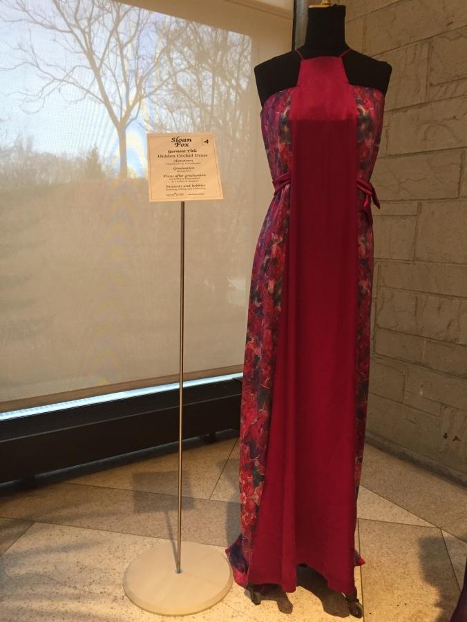 Abby & Elle Upstairs Fashion & Design: Sloan Fox, Hidden Orchid Dress
