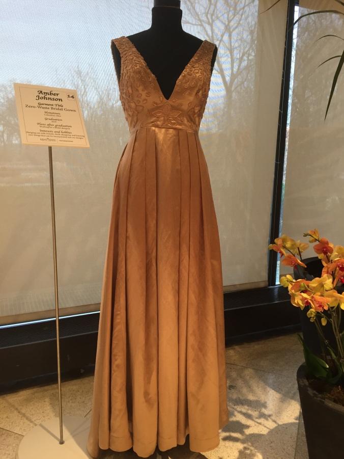 Abby & Elle Upstairs Fashion & Design: Amber Johnson, Zero-waste Bridal Gown